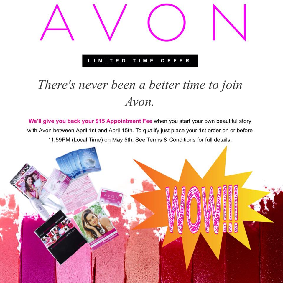 It's Not too Late to Sign Up to Sell Avon for FREE! - Deanna's Beauty Blog